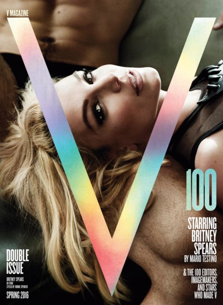 V Magazine 100 Spring 2016 Britney Spears By Mario Testino1