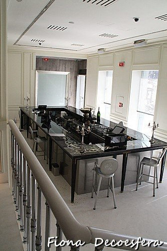 Restaurante Ramses, decorado por Philippe Starck