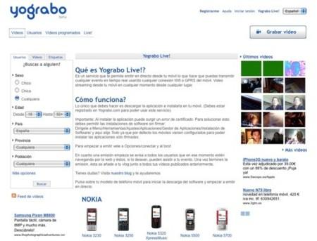 Yograbo apuesta por el videostreaming desde dispositivos móviles