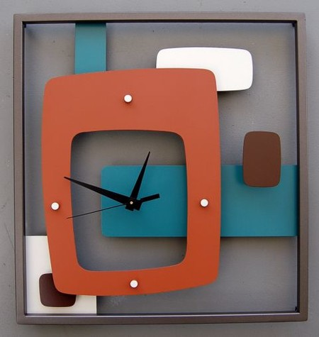 Los 17 relojes de pared m s sorprendentes para la casa - Relojes rusticos de pared ...