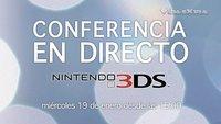 Nintendo 3DS: presentación europea. Síguela en directo