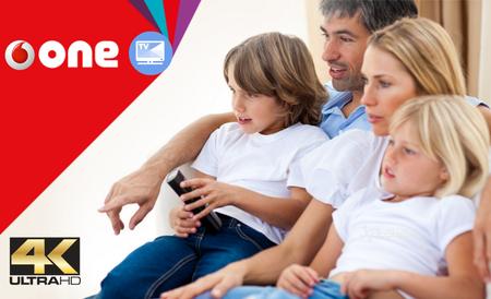 Vodafone renueva su oferta de televisión con contenido 4K y nuevo descodificador con Plex integrado