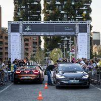 La mítica carrera Mille Miglia ya no es sólo de clásicos, ahora también hay eléctricos