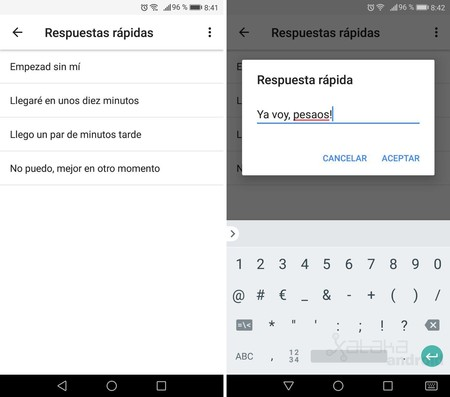 Respuesta Rapida Google Calendar