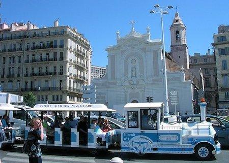 Trenes turísticos en Marsella