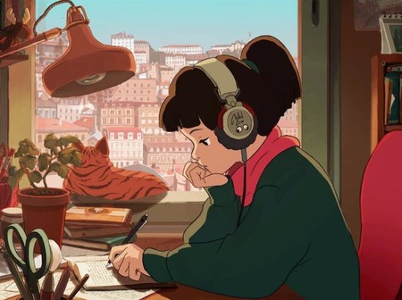 Lofi Hip Hop Radio Beats To Relax Study Chica Estudia Gato Video Chilledcow