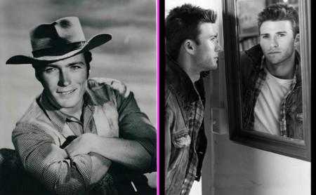 De aquellos mimbres salieron estos cestos: Clint y Scott Eastwood