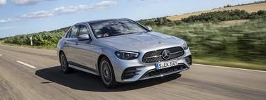 Probamos el Mercedes-Benz Clase E: una berlina que lo apuesta todo al confort y a su nuevo volante sin botones