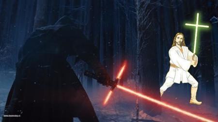 Avalancha de parodias de 'Star Wars: El despertar de la fuerza', la imagen de la semana