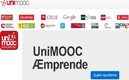 UniMOOC, formación gratuita para emprendedores
