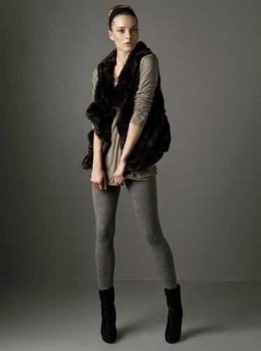 Nuevos looks y estilos de Zara, Otoño-Invierno 2009/2010, chaleco