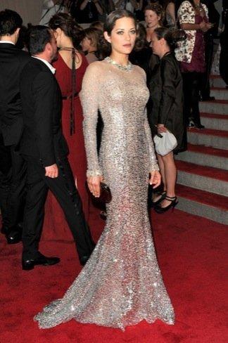 Famosas mejor vestidas: Marion Cotillard