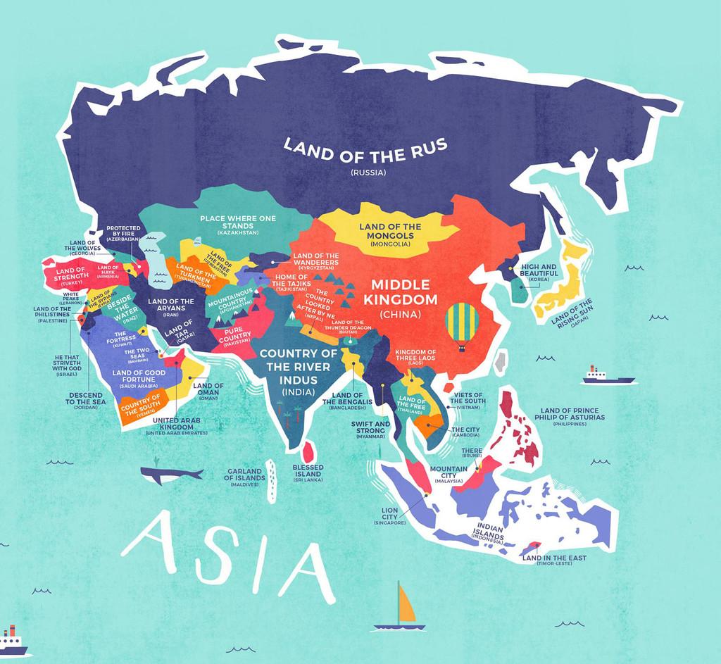 Nombres De Asia