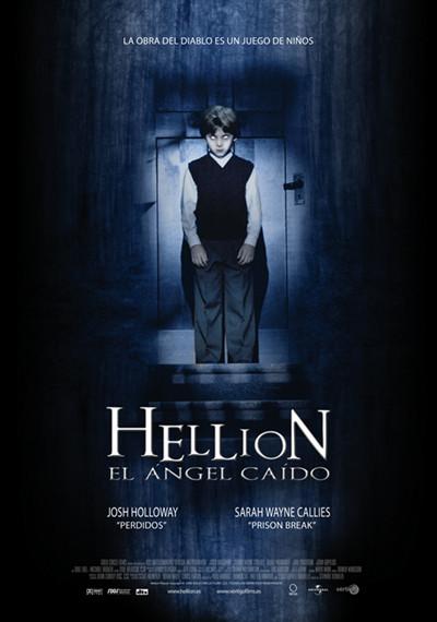 'Hellion, el Ángel Caído', poster y trailer de un nuevo título de terror