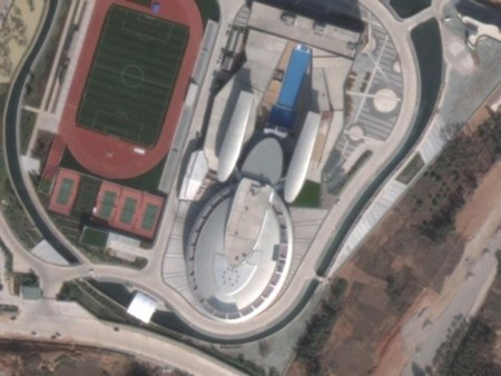 Star Trek Enterprise Building In China