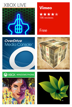 Apps en Windows Phone Store