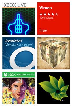 Apps en Windows Phone Store