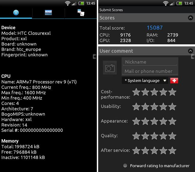 AnTuTu HTC One XXL
