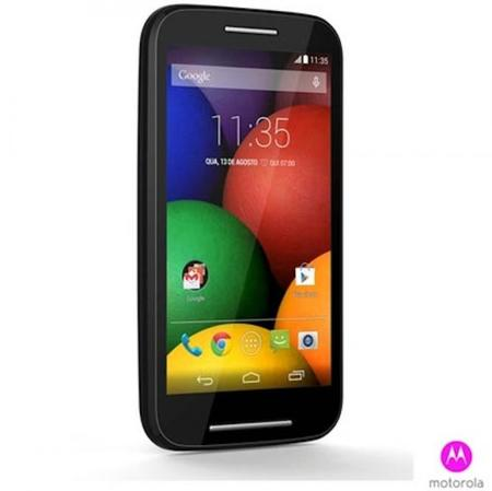 Motorola Moto E Negro