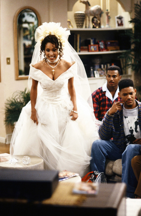 Hilary Banks Fresh Prince Wedding Dress Main