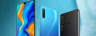 Huawei P30 Lite, comparativa: así queda contra sus rivales, incluyendo al Xiaomi Mi 8 Lite y Moto G7 Plus
