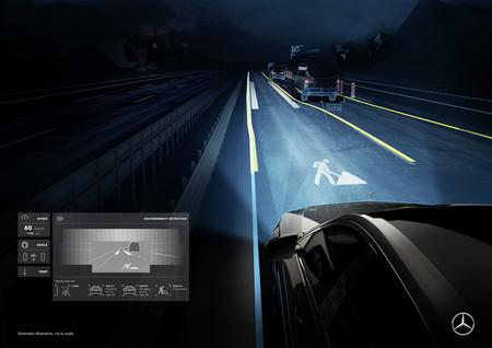 Digital Light Mercedes Benz 8