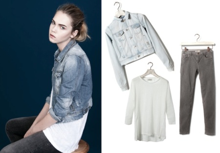Destila glamour con los looks 'no complicados' de Pull & Bear. Be basic