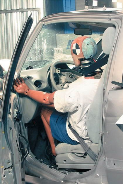 Chery QQ Crash Test