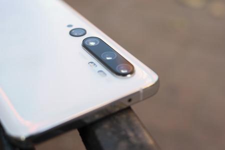 Detalle de la cámara del Xiaomi Mi Note 10 Pro