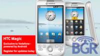 HTC Magic, Android con Vodafone