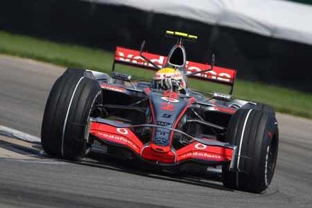 Alonso no puede con Hamilton en Indianápolis