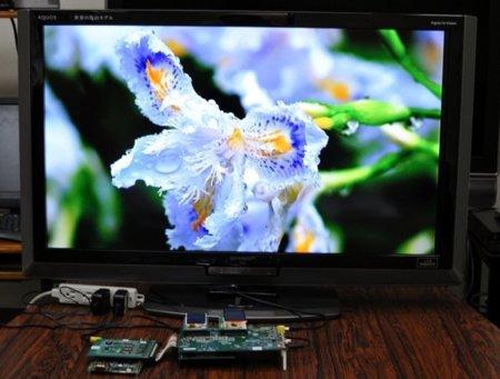 Sharp LR388G9 reproduciendo Full HD