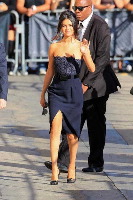 Selena Gomez Jimmi Kimmel Live Octubre 2014