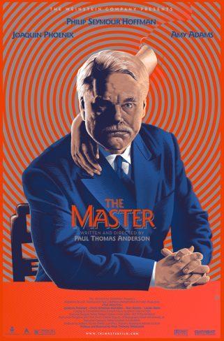 El póster de Mondo para The Master