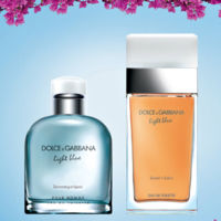 Sunset in Salina y Swimming in Lipari, las ediciones limitadas del perfume Light Blue de Dolce & Gabbana