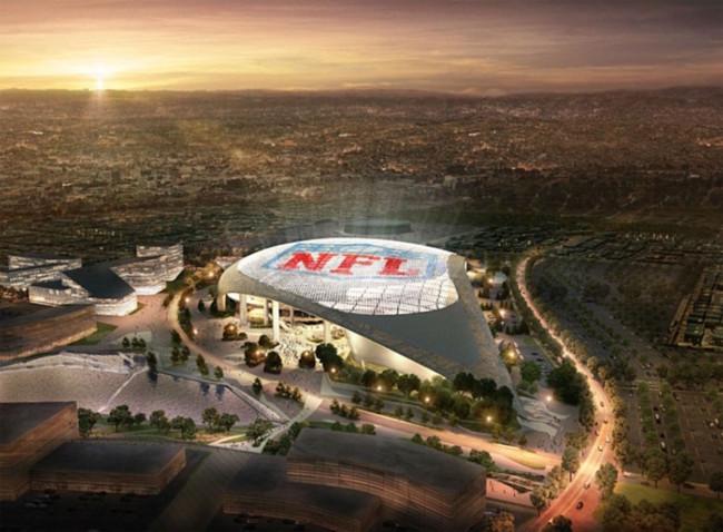 Es oficial: La ciudad de Los Ángeles tendrá nuevo y espectacular estadio en 2019