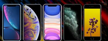 Así queda el catálogo absoluto de iPhones a la venta en 2019 y sus diferencias
