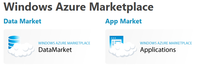 Windows Azure MarketPlace