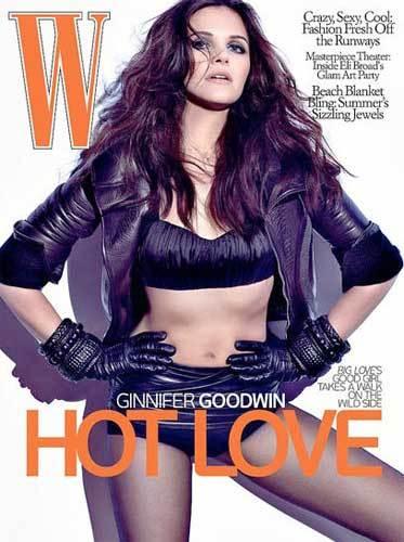 Ginnifer Goodwin en W Magazine