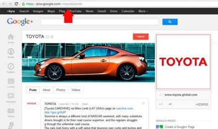 "Las ""vanity URLs"" llegan a Google+"
