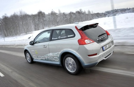 Volvo C30 electric nieve
