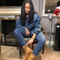 Cómo conseguir un total look vaquero en dos pasos según Rihanna