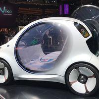 Con su Smart Vision EQ, Mercedes nos muestra cómo cree que el coche va a cambiar