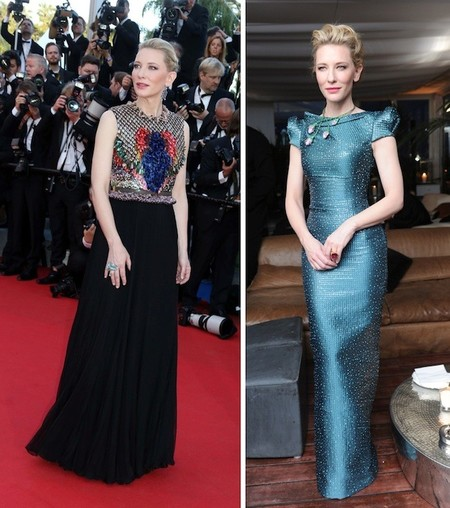 cate blanchett chopard red carpet cannes