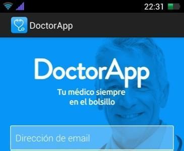 DoctorApp es una aplicación para dispositivos móviles que permite el acceso a un médico colegiado las 24 horas del día