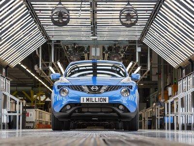 Nissan ha fabricado un Juke cada 105 segundos por 8 años, y ya suman un millón