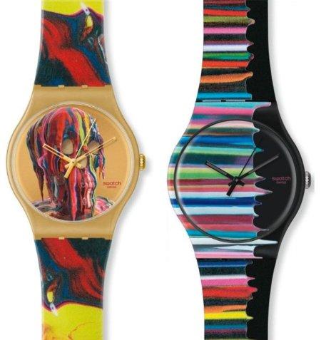 Markus Linnenbrink diseña dos relojes para Swatch