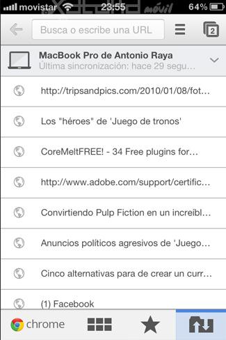 Foto de Google Chrome en iOS (2/15)