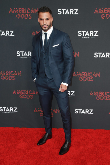 Ricky Whittle Premiere Of Starz S American Gods Season 2 Arrivals Red Carpet