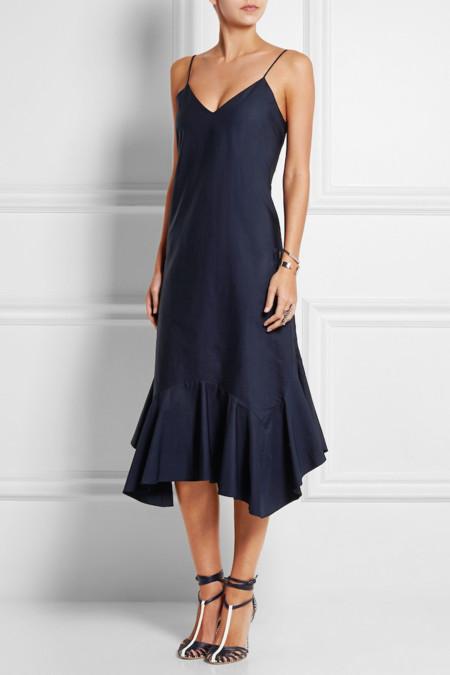 Slip dress navy